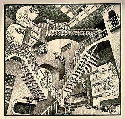 Escher_Relativiteit