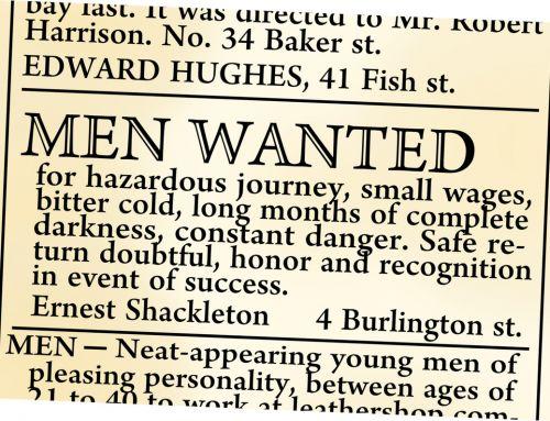 Praktisch Denken – Shackleton overwint door volharding